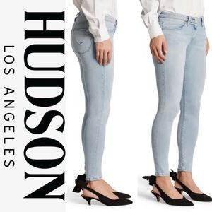 Hudson Krista Low-Rise Skinny Ankle Jeans: 24; NWT